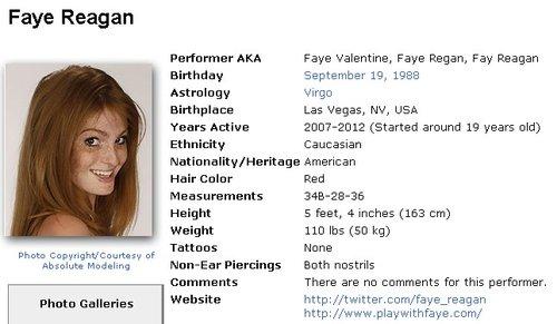 Faye Reagan Iafd